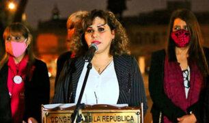 Denuncian hurto de laptop de congresista de Podemos Perú, María Teresa Cabrera