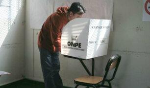 Elecciones 2021: ONPE recomienda a electores votar en horarios escalonados