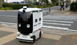 Panasonic estrena carro repartidor de funcionamiento autónomo en Japón