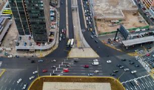 Taxis y autos particulares podrán transitar por el carril izquierdo de la Vía Expresa Grau