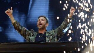 David Guetta ofrecerá concierto de Nochevieja desde Francia