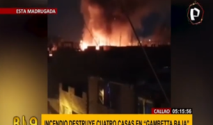 Callao: piden ayuda para afectados por voraz incendio en Gambetta