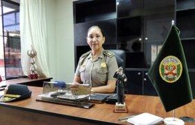 Policía Nacional tendrá por primera vez una mujer coronel de armas
