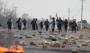 Paro agrario: reportan tres muertos durante enfrentamientos en la Panamericana Norte