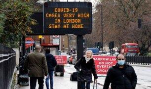 Inglaterra: amplían restricciones tras seguir registrado altos números de contagios