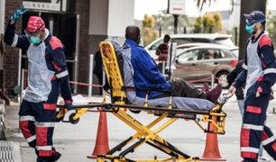 Sudáfrica se convierte en la primera nación africana en superar el millón de contagios
