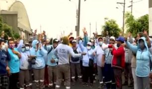 1600 trabajadores de limpieza pública inician huelga indefinida