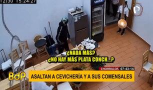 Chorrillos: PNP capturó a dos delincuentes que asaltaron cevichería