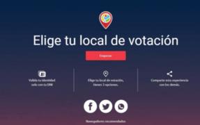 ATENCIÓN: hoy vence plazo para elegir local de votación para las Elecciones 2021
