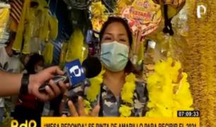 Mesa Redonda se tiñó de amarillo y recibe con esperanza el 2021