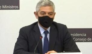 José Elice: Ministro del Interior se presentará este lunes ante la comisión de Fiscalización
