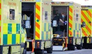 Inglaterra: reactivan hospital de campaña para pacientes con COVID-19 tras aumento de casos