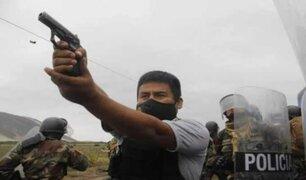 La Libertad: intervienen a presunto agente policial que disparó a manifestantes