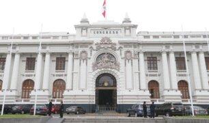 Pleno del Congreso sesiona hoy para debatir diversos proyectos de ley