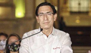 Martín Vizcarra terminó siendo vacado en el 2020 por permanente incapacidad moral