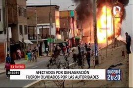 Un total de 34 fallecidos dejó deflagración y explosión en Villa El Salvador