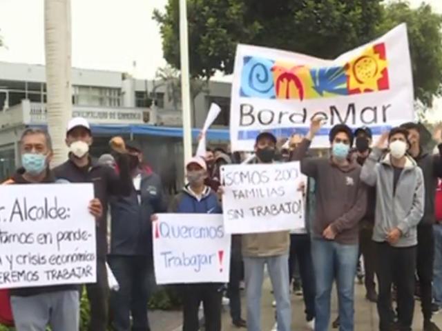 Barranco: trabajadores de Bordemar consideran arbitrario el cierre de locales