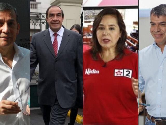 Estos son los precandidatos presidenciales que ganaron las internas de sus partidos