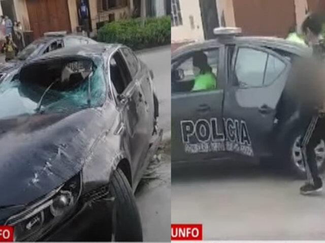 Conductor que perdió el brazo al intentar fugar de la Policía habría estado ebrio, según testigos