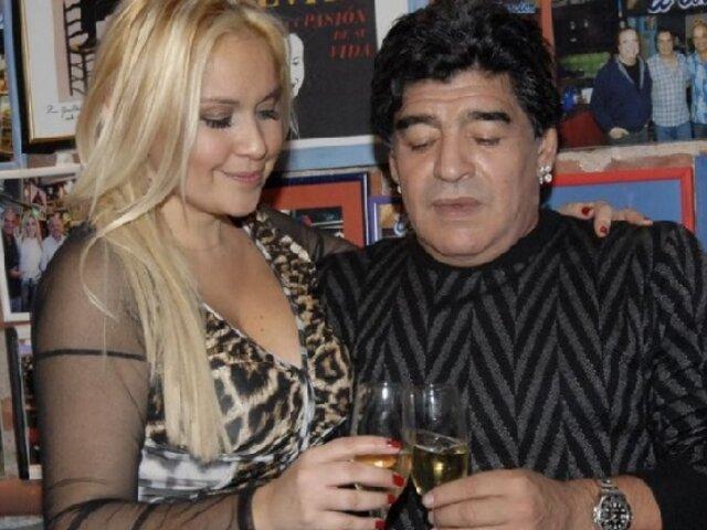 Revelan el último audio que Maradona le envió al novio de Verónica Ojeda