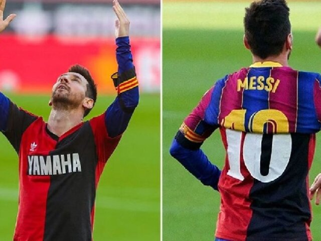 Messi replicó tremendo gol de Maradona para dedicarle merecido homenaje