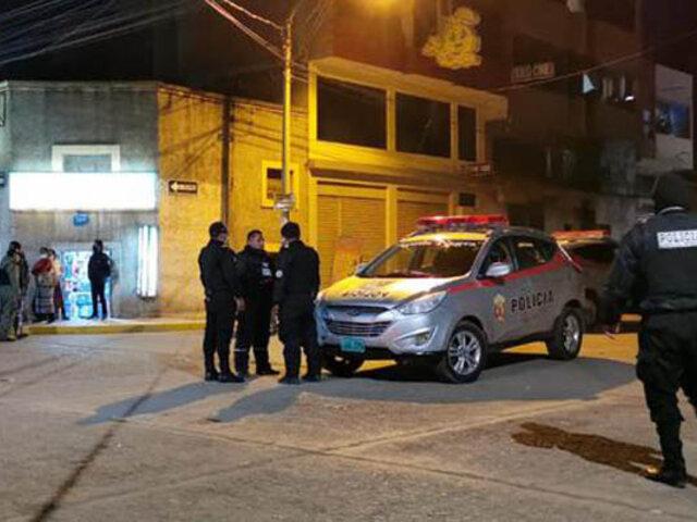 Delincuentes fuertemente armados desatan el terror en un  hostal en Juliaca