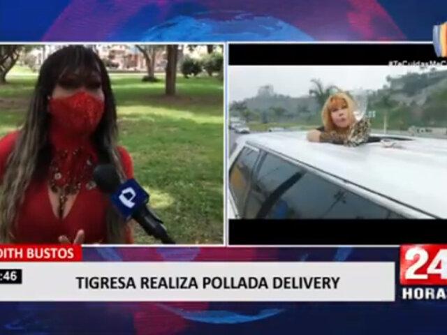 Tigresa del Oriente: Judith Bustos realizará pollada delivery