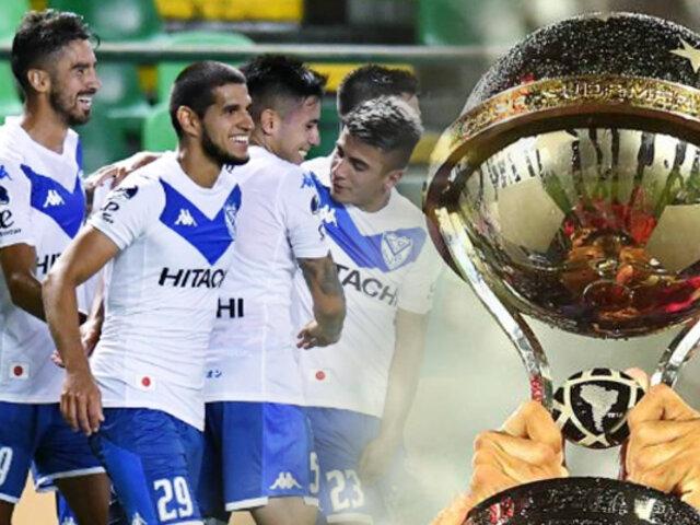 Vélez se metió a cuartos de la Sudamericana, con gol de Abram