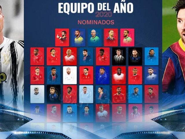 UEFA abrió votaciones para el once del año 2020
