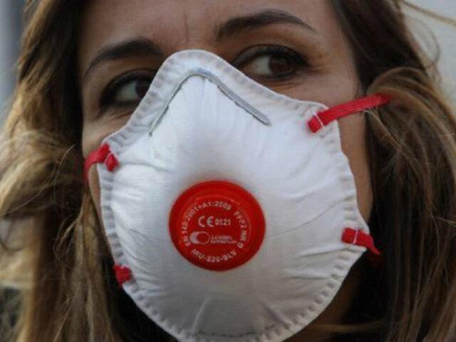 COVID-19: OMS recomienda dejar de usar mascarillas con válvula