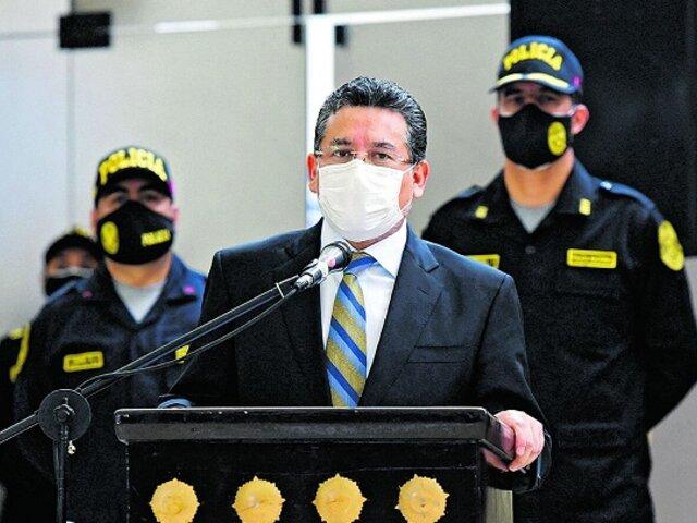 UPP promueve moción de interpelación contra ministro del Interior Rubén Vargas