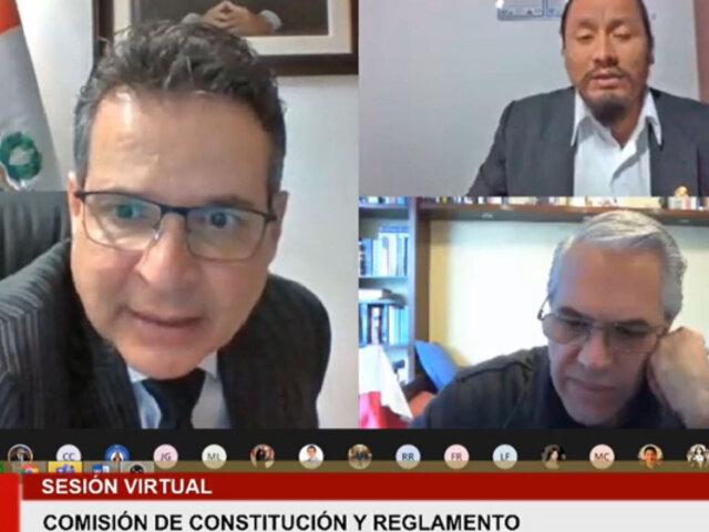 Congreso: Comisión de Constitución aprueba eliminar inmunidad parlamentaria