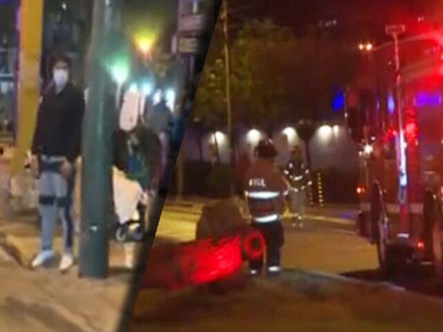 Fuga de gas: Evacúan al menos seis cuadras en San Isidro