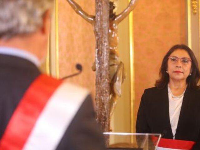 Gabinete Ministerial liderado por Violeta Bermúdez buscará hoy voto de confianza ante el Congreso