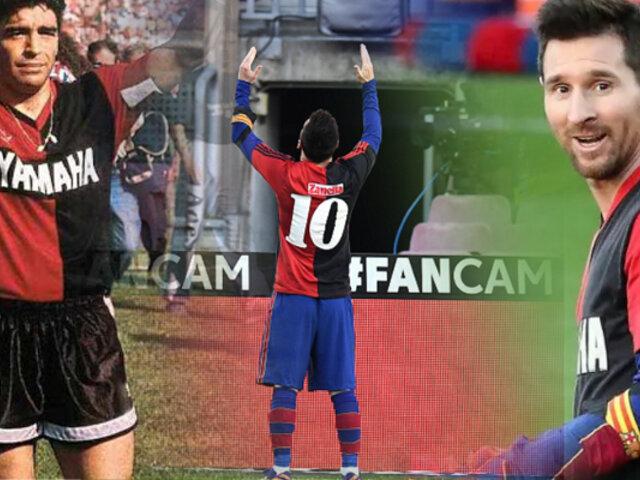 Messi pagará multa por el homenaje que le hizo a Maradona