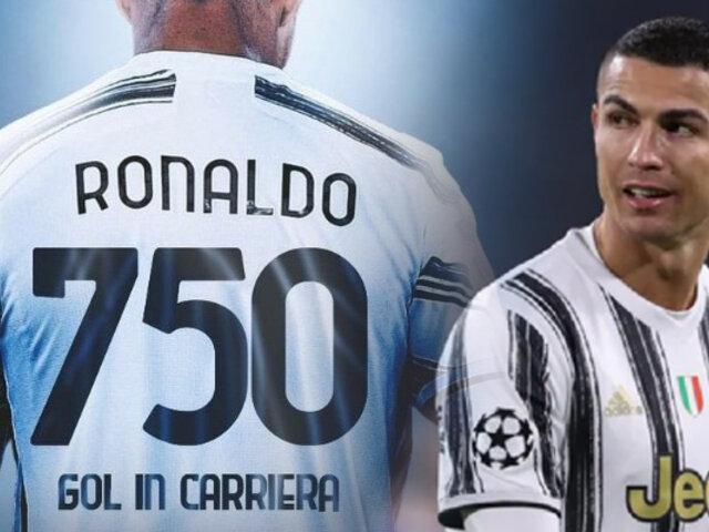 Cristiano Ronaldo marcó su gol 750