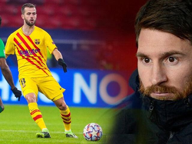 Barcelona goleó sin Messi en la cancha