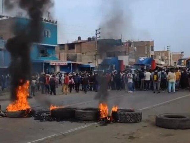 Reportan primer fallecido en protestas de trabajadores agroindustriales de Virú