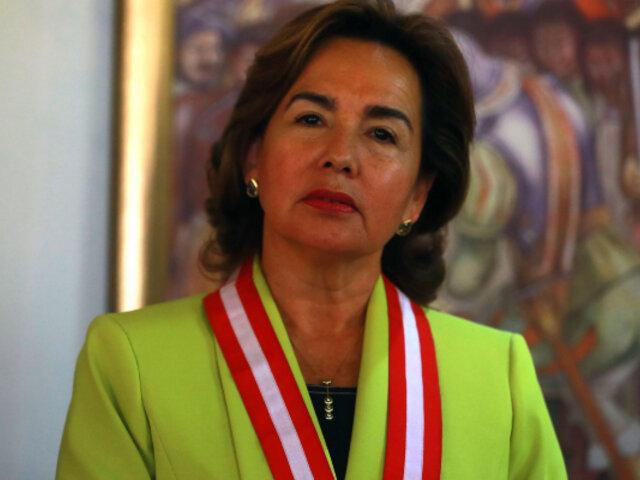 Elvia Barrios fue elegida como nueva presidenta del Poder Judicial