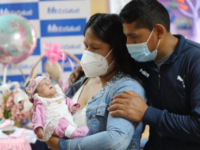 Hospital Sabogal: trilliza prematura sobrevive tras recibir cuidados especializados