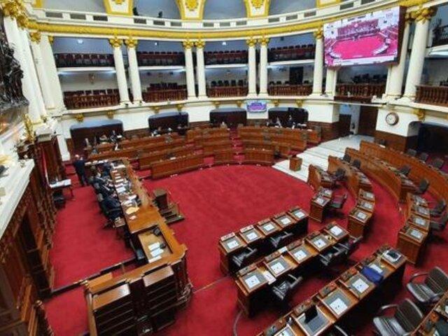 Pleno del Congreso aprobó derogatoria de Ley de Promoción Agraria