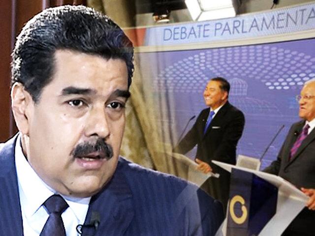 """Oposición venezolana acepta """"reto"""" de Nicolás Maduro"""