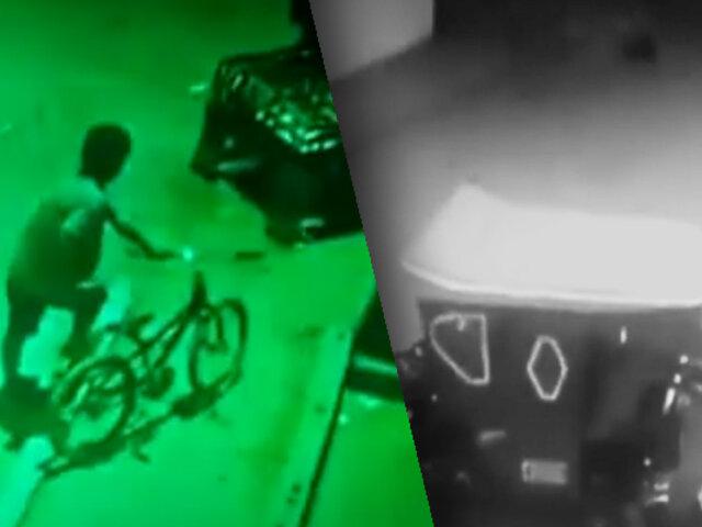 Sujeto robó mototaxi aprovechando la oscuridad de una calle