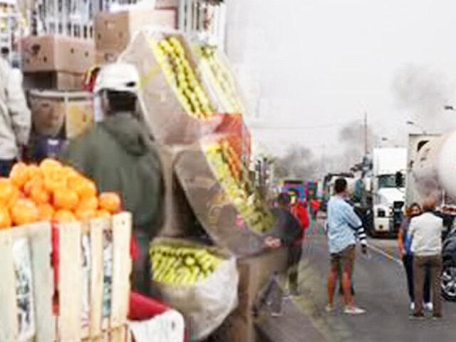 Disminuye 40% del ingreso de productos al Mercado de Frutas