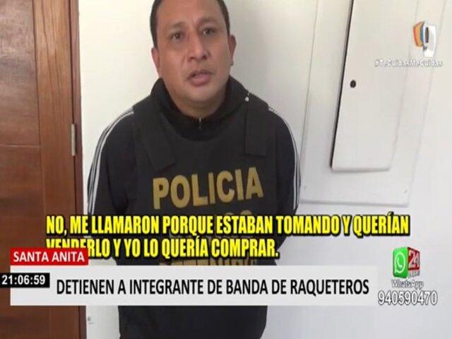 "Santa Anita: PNP capturó a integrante de banda ""Los Fracturas de Andahuaylas"""