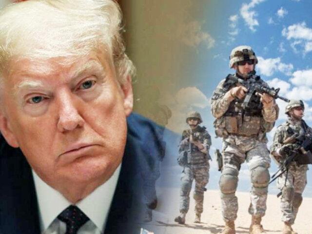 """Trump ordena el retiro de la """"mayoría"""" de los soldados de EEUU en Somalia"""