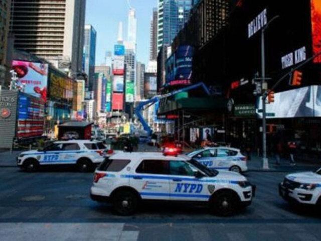 EEUU: sujeto atropella policía que iba a multarlo por no respetar medidas contra el Covid-19
