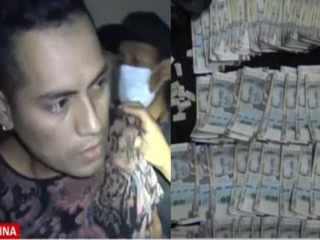 Escuadrón Terna captura a rankeado vendedor de droga que operaba en exclusiva zona de La Molina