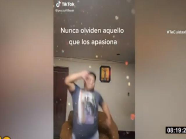 TikTok: ¿Quién es el peruano de talla grande que cautiva con su habilidad para el baile?