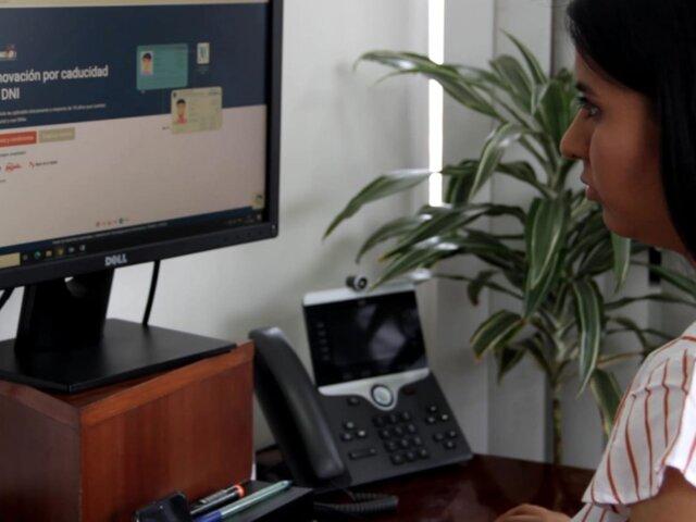 Reniec retoma atención por sistema de cita en Lima
